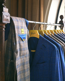 Photo of of jackets on rack